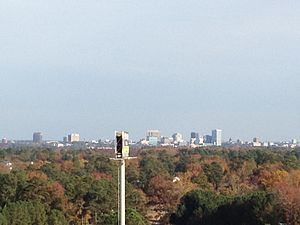 Lexington, South Carolina - View of Columbia skyline from Lexington