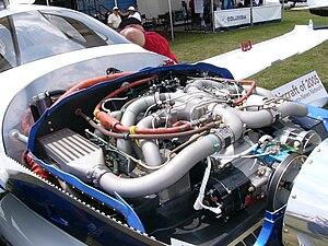 Continental IO-550 - Continental TSIO-550-C engine installation in a Cessna 400