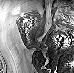 Columbia Glacier, Valley Glacier Ablation Moraine, Terminus, July 30, 1978 (GLACIERS 1119).jpg