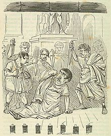Comic History of Rome p 308 The End of Julius Caesar.jpg