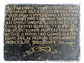 Commemorative plaque of the Saint Francis church in Warsaw - 06.jpg