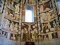 Como, basilica di sant'abbondio, cortile, interno, affreschi 07.JPG