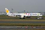"""Condor Boeing 757-330 D-ABON """"Wir lieben Fliegen"""" colors (26804670184).jpg"""