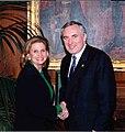 Congresswoman Carolyn Maloney with Irish Prime Minister Patrick B. Ahern.jpg