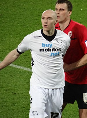 Conor Sammon - Sammon playing for Derby County in 2013.