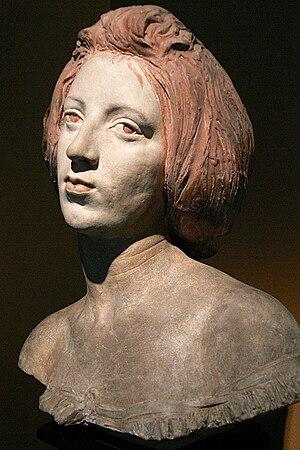 Conrad Dressler - Portrait of Nita Maria Schonfeld Resch (1898)