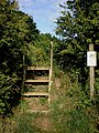 Conservation Walk access at Old Fall Plantation - geograph.org.uk - 1405106.jpg