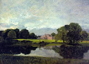 1809 in art - John Constable, Malvern Hall 1809