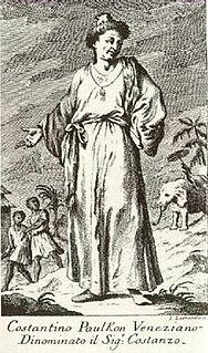 Constantine Phaulkon Greek adventurer (1647–1688)