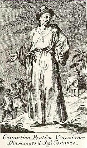 Constantine Phaulkon - Contemporary depiction of Constance Phaulkon.