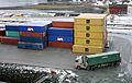 Containerhåndtering i Orkanger havn (6947051432).jpg