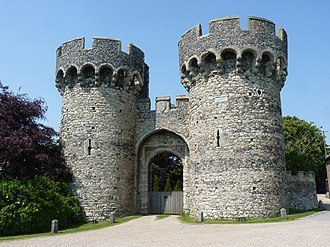 Cooling Castle - Outer gatehouse of Cooling Castle