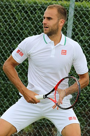 Marius Copil - Marius Copil at the 2016 Wimbledon<br/>qualifying tournament