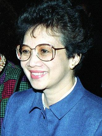 Philippine presidential election, 1986 - Image: Corazon Aquino 1986