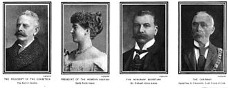 Cork International Exhibition (1902) - Contemporary portraits of event organisers