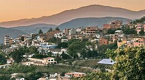 Coroico - Image: Coroico town