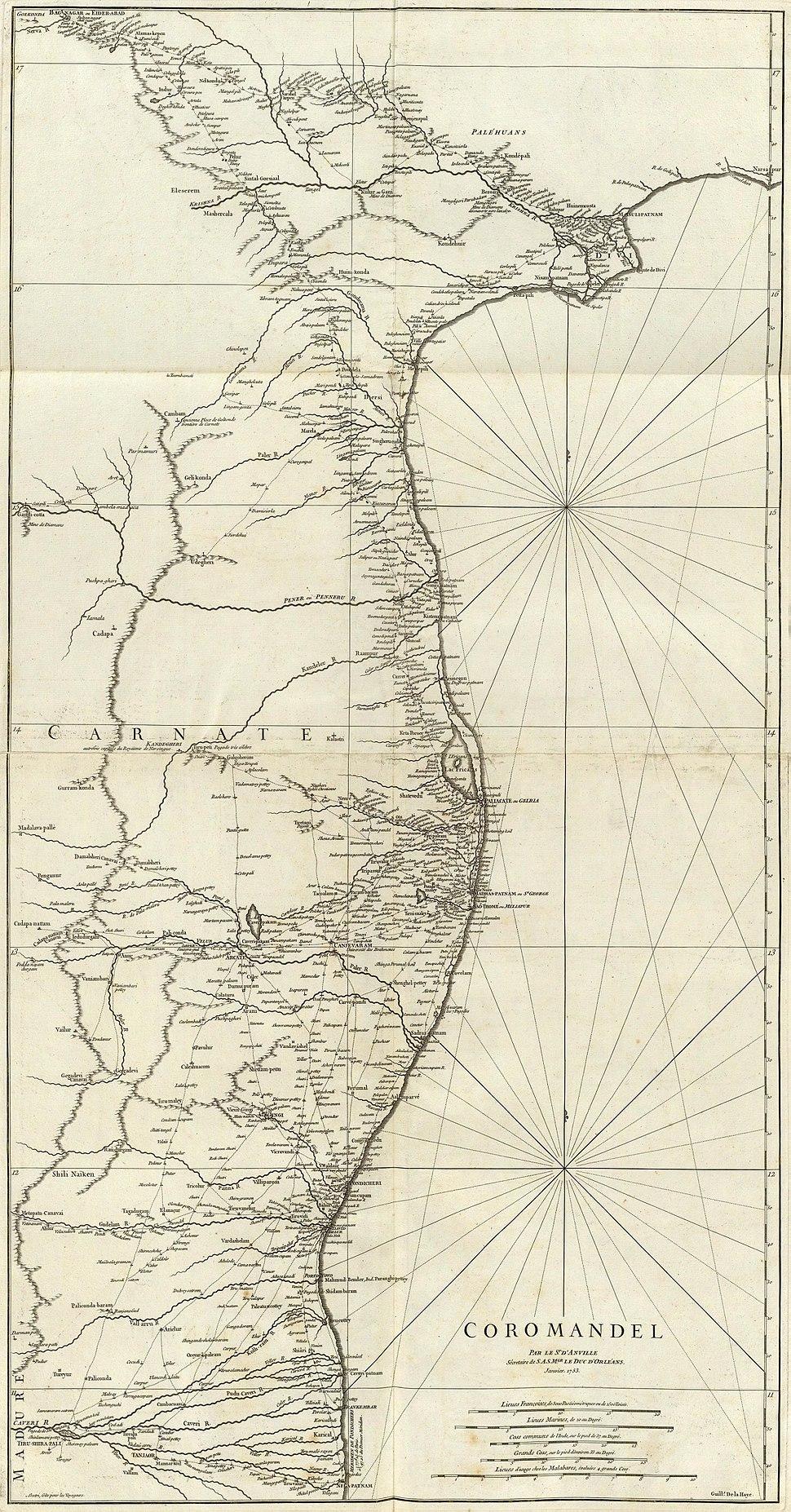 Coromandel Coast 1753