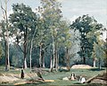 Corot - Ville d'Avray - Bucheronnes dans une Prairie au Bord des Bois, R286.jpg