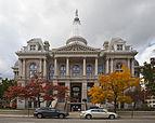 Corte del Condado de Tippecanoe, Lafayette, Indiana, Estados Unidos, 2012-10-15, DD 01.jpg
