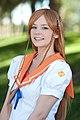 Cosplay of Mirai Suenaga with summer school uniform by Maridah 20100916 2.jpg