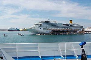Costa Concordia in Palma, Majorca.JPG