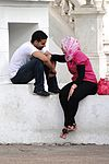 Couple Getting Cozy - Ville Nouvelle (New City) - Rabat - Morocco.jpg