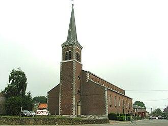 Courcelles, Belgium - Image: Courcelles JPG00