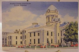 Houston County, Alabama - Original Courthouse