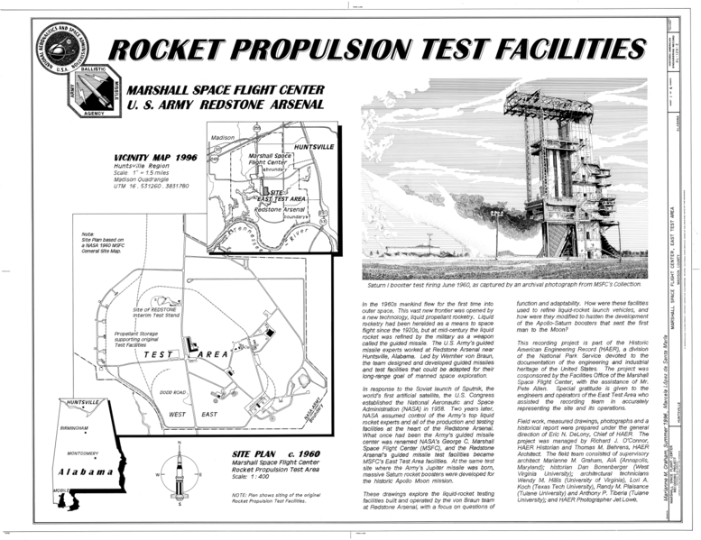 File:Cover Sheet and Site Plan - Marshall Space Flight