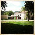 Crêche - Parc de l'Hôtel de ville de Prades - Château Pams.JPG