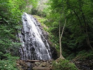 Crabtree Falls (North Carolina) - Image: Crabtree Falls,Crabtree Meadows, NC(1)