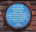 Crabtree blue plaque.JPG