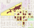 Crete Downtown HD boundary map.png