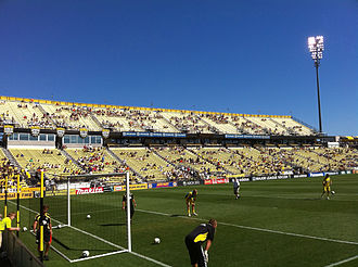 2010 Lamar Hunt U.S. Open Cup Final - The Columbus Crew hosted U.S. Open Cup matches at Crew Stadium.