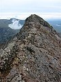 Crib Goch from the First Pinnacle - geograph.org.uk - 64945.jpg