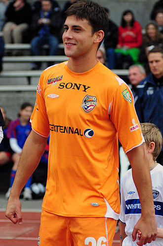 Cristian Arrieta - Arrieta playing for the Puerto Rico Islanders.