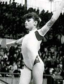 Cristina Bontaș Romanian artistic gymnast