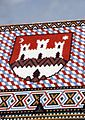 Crkva sv Marka grb Zagreba.JPG