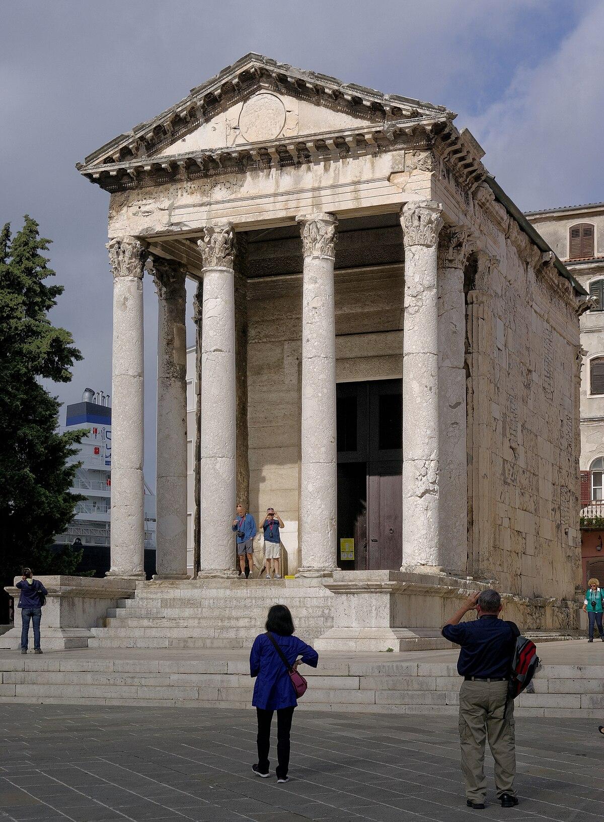 La Casa Es Muy Bonita Y Grande World Mediterranean: Temple Of Augustus, Pula