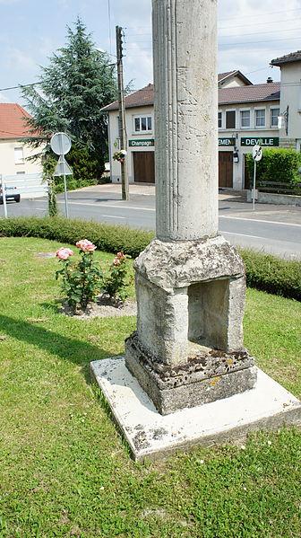 Vue de la Croix de chemin à Verzy.