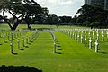 Crosses Mark 17,000 American and Filipino Dead at the American Cemetery in Manila (11417916125).jpg