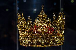 Danish Crown Regalia - The Crown of King Christian IV