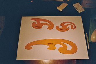 French curve - Image: Curve stencils