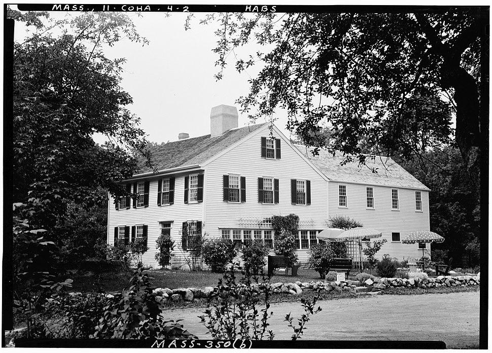 Cushing-Nichols House Cohasset Massachusetts