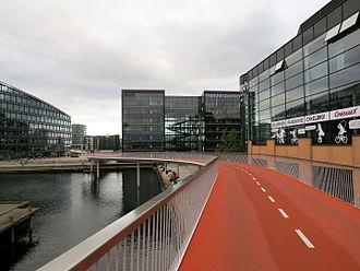 Havneholmen, Copenhagen - TheCykelslangen bicycle ramp