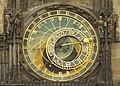 Czech-2013-Prague-Astronomical clock face 3.jpg