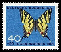 DBP 1962 379 Jugend Schmetterlinge.jpg
