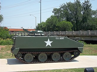 Del City, Oklahoma - Armored personnel carrier