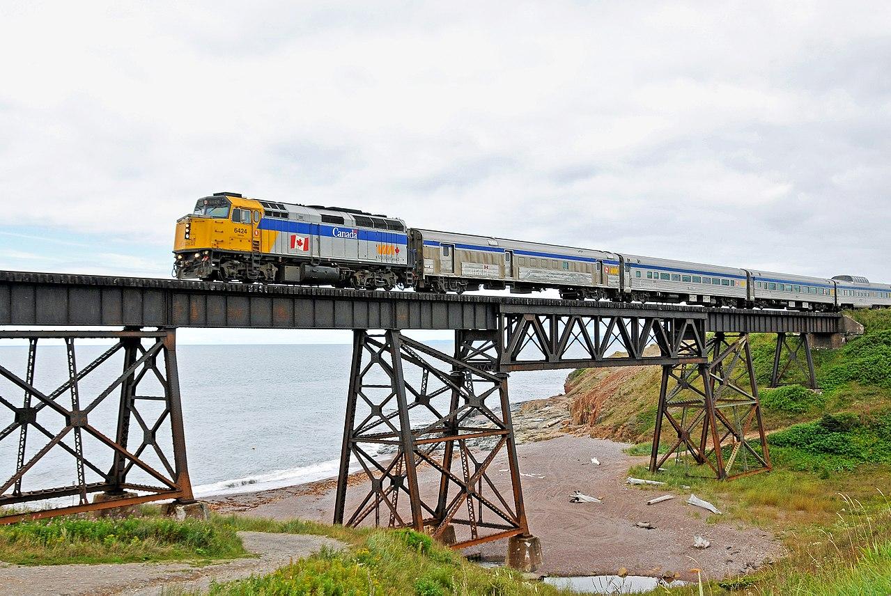 Via Rail Train Kitchener To Toronto