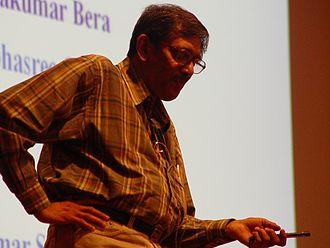 Debashis Mukherjee - At the 12th ICQC in Kyoto, 2006